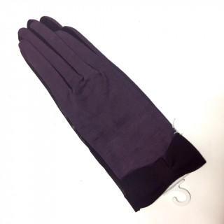 アンテプリマ(ANTEPRIMA)の新品 ブラック or パープル リボン アームカバー 夏用手袋 UV 紫外線対策(手袋)