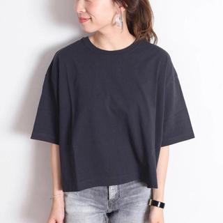 シップスフォーウィメン(SHIPS for women)の【新品】SHIPS  BIG Tee  ビッグ Tシャツ(Tシャツ(半袖/袖なし))