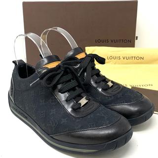 ルイヴィトン(LOUIS VUITTON)のLOUIS VUITTON☆ スニーカー モノグラム ブラック(スニーカー)