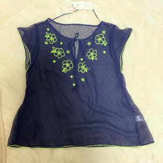 ジーユー(GU)のジーユー☆新品未使用タグ付き(シャツ/ブラウス(半袖/袖なし))