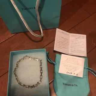 ティファニー(Tiffany & Co.)のティファニー Tiffany Tナローチェーンブレスレット ブレス tナロー(ブレスレット)