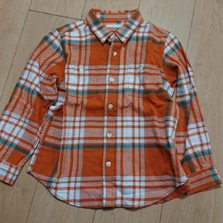 ジーユー(GU)のネルシャツ ジーユー チェックシャツ 120 GU 美品(その他)