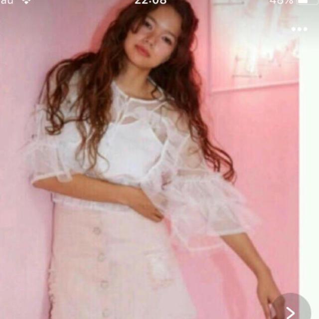 Honey mi Honey(ハニーミーハニー)の♡honey mi honey ブラウス♡ レディースのトップス(シャツ/ブラウス(長袖/七分))の商品写真
