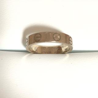 カルティエ(Cartier)のカルティエ ミニラブリング(リング(指輪))