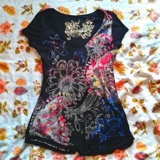 デシグアル(DESIGUAL)のDesigual シャツ(Tシャツ(半袖/袖なし))