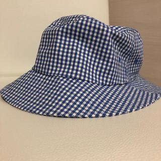 ムジルシリョウヒン(MUJI (無印良品))の無印良品 ギンガムチェック帽子(ハット)