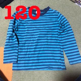 ドンキージョシー(Donkey Jossy)の☆美品☆ロンT 長袖 厚手 120 ボーダー柄(Tシャツ/カットソー)