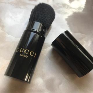 fb686a1224e4 グッチ(Gucci)の【VIP顧客限定】GUCCI メイクブラシ トラベル用(