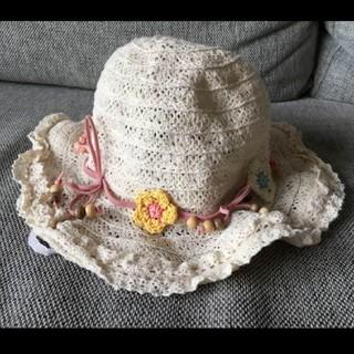 マザウェイズ(motherways)のマザーウェイズ 麦わら 帽子(帽子)