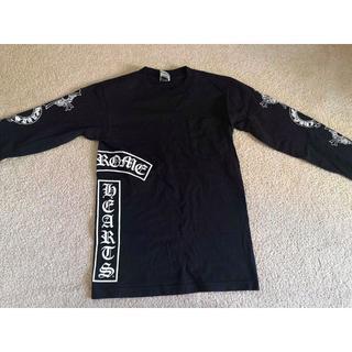 クロムハーツ(Chrome Hearts)のクロムハーツ長袖シャツ USED美品  ブラック サイズS(Tシャツ/カットソー(七分/長袖))