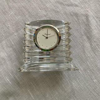 バカラ(Baccarat)のBaccarat 置き時計 (置時計)