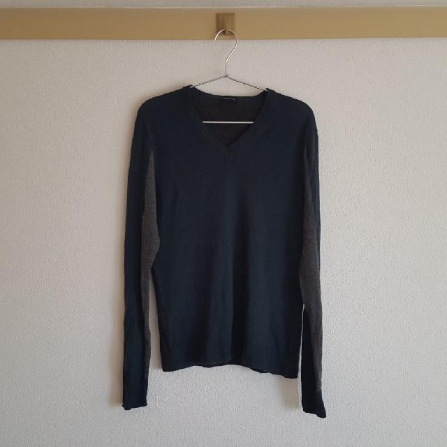 JOSEPH(ジョゼフ)の[JOSEPH HOMME]バイカラーセーター メンズのトップス(ニット/セーター)の商品写真