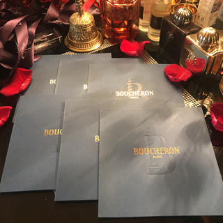 ブシュロン(BOUCHERON)のBOUCHERON ブシュロン  メッセージカード セット(カード/レター/ラッピング)