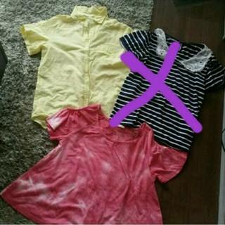 ジーユー(GU)のぱぁ様専用ページ✧GU2着セット(Tシャツ(半袖/袖なし))