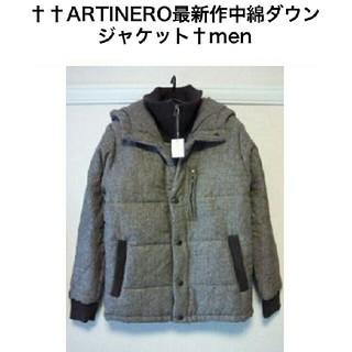 アルティネロ(ARTINERO)のARTINERO☆中綿ダウンジャケット(^-^)v(ダウンジャケット)