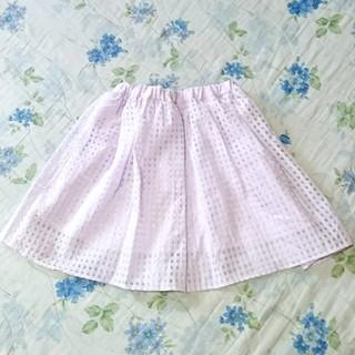 シマムラ(しまむら)の♡ブロックチェック スカート♡(ミニスカート)