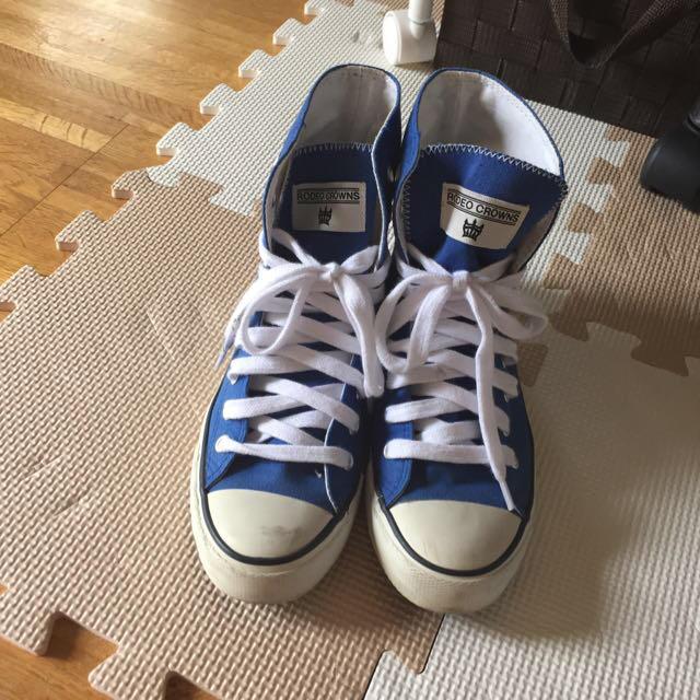 RODEO CROWNS(ロデオクラウンズ)のロデオクラウンズ♡スニーカー24㎝ レディースの靴/シューズ(スニーカー)の商品写真