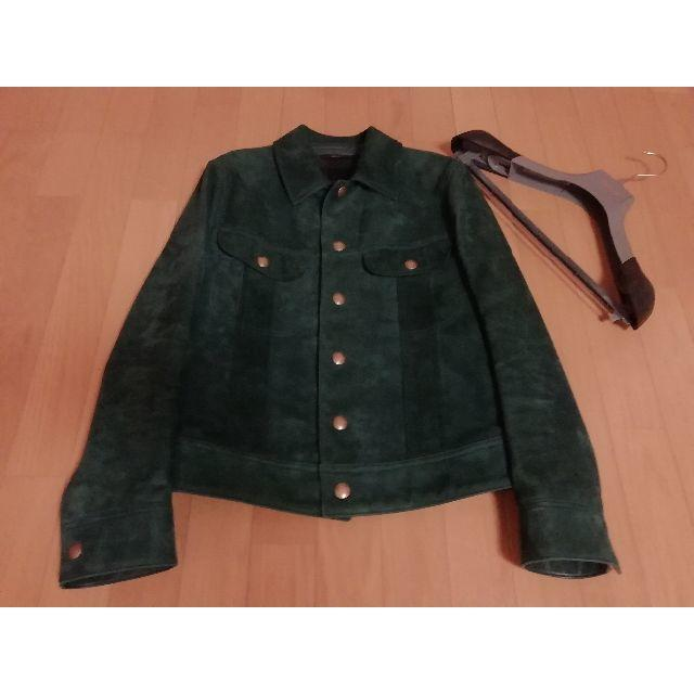 TOM FORD(トムフォード)のトムフォード スエード レザー Gジャン ブルゾン ジャケット  メンズのジャケット/アウター(レザージャケット)の商品写真