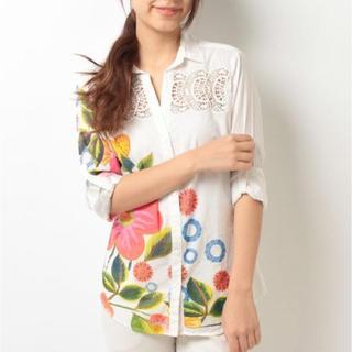 デシグアル(DESIGUAL)の新品♡定価14900円 デシグアル レース切り替えシャツ S、M、 L、XL (その他)
