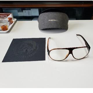 ディーゼル(DIESEL)のDIESELディーゼルメガネ 伊達眼鏡(サングラス/メガネ)