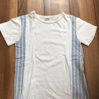 ターカーミニ(t/mini)の切り替え半袖 140cm(Tシャツ/カットソー)