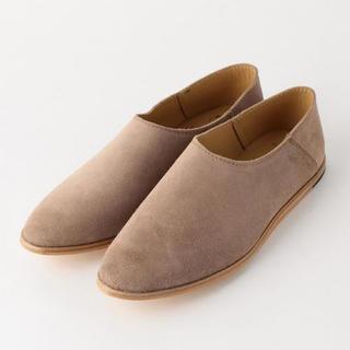 ビューティアンドユースユナイテッドアローズ(BEAUTY&YOUTH UNITED ARROWS)の【ちゃたろう551642様専用】CAMINANDO スエードバブーシュ(ローファー/革靴)