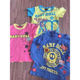 eec0f7aadb125 ベビードール(BABYDOLL)のBABYDOLL まとめ売り 100、120cm(Tシャツ
