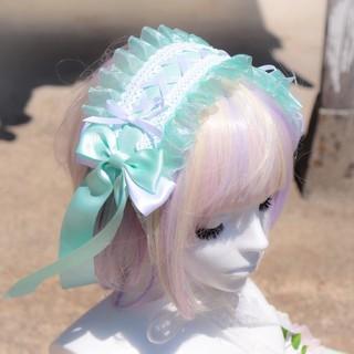アンジェリックプリティー(Angelic Pretty)のミント☆ヘッドドレス(ヘアバンド)