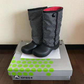 クロックス(crocs)のcrocs レインブーツ w7(レインブーツ/長靴)