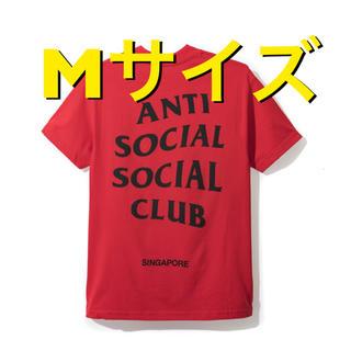 アンチ(ANTI)の新品 ANTI SOCIAL SOCIAL CLUB Tシャツ 赤 Mサイズ(Tシャツ/カットソー(半袖/袖なし))