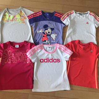 アディダス(adidas)のadidas アディダス キッズTシャツ 6枚セット(Tシャツ/カットソー)