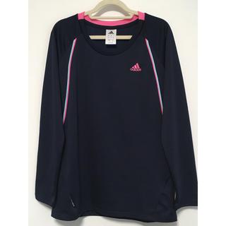 アディダス(adidas)のadidas  長袖Tシャツ ネイビー(Tシャツ(長袖/七分))