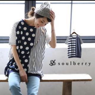 ソルベリー(Solberry)のソウルベリー 水玉(Tシャツ(半袖/袖なし))