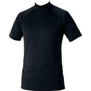ゼット(ZETT)の新品ゼットハイネック半袖アンダーシャツ定価2592ブラック(ウェア)