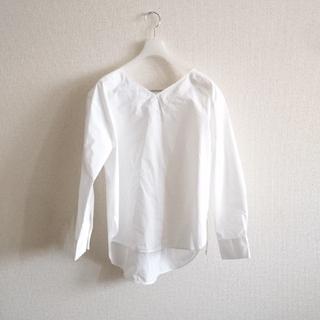 デミルクスビームス(Demi-Luxe BEAMS)の新品 ビームスライツ Wタイプライターシャツ(シャツ/ブラウス(長袖/七分))