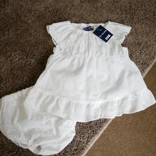 シマムラ(しまむら)の新品 コットンレース 半袖トップス(Tシャツ)