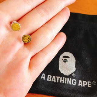 アベイシングエイプ(A BATHING APE)のA BATHING APEマイロピアス(ピアス(両耳用))