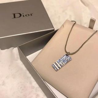 8b19af8926 クリスチャンディオール(Christian Dior)の【美品】Dior トロッター ネックレス ブルー箱