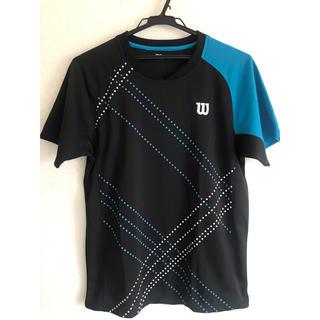 ウィルソン(wilson)のWilson ウィルソン テニスウェア Tシャツ メンズ ブルー系(ウェア)