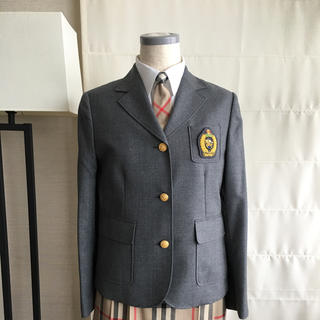 バーバリー(BURBERRY)のバーバリー 160 フォーマル 4点セット 上品 レアなグレージャケット(ドレス/フォーマル)