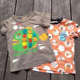 ビッツ(Bit'z)の90cm半袖Tシャツ2枚セット(Tシャツ/カットソー)