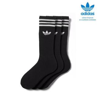 アディダス(adidas)の24-26cm アディダスadidas オリジナルス靴下3足セット   (靴下/タイツ)