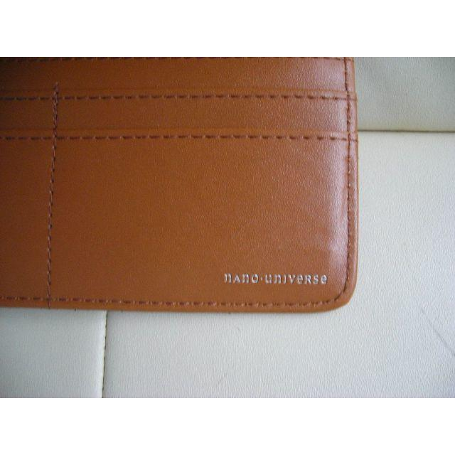 nano・universe(ナノユニバース)の★ナノユニバース 本革長財布 ◆2~3回使用 メンズのファッション小物(長財布)の商品写真