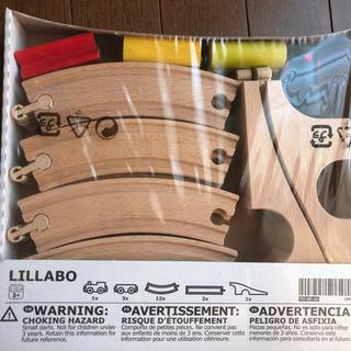 イケア(IKEA)のIKEA 汽車模型 LILLABO(電車のおもちゃ/車)