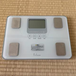 TANITA - 【TANITA】体脂肪計/使用回数が少な目