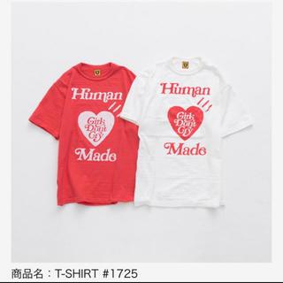 アベイシングエイプ(A BATHING APE)の【白 XL】Human Made(Tシャツ/カットソー(半袖/袖なし))