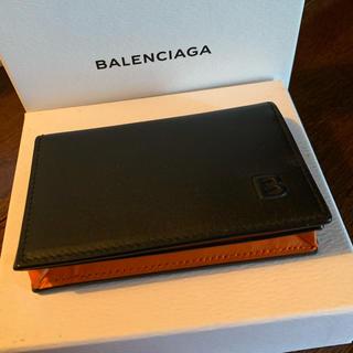 バレンシアガ(Balenciaga)のtomson様専用!BALENCIAGA レザー カードケース 新品未使用(名刺入れ/定期入れ)