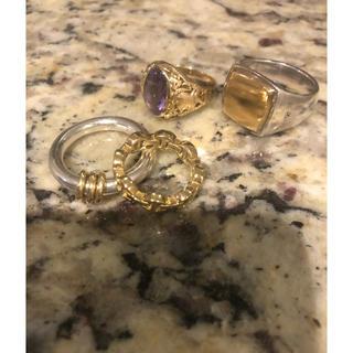 ロンハーマン(Ron Herman)のホーセンブース リング 18K 8号 正規品 美品(リング(指輪))