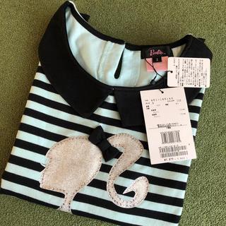バービー(Barbie)の専用2点セット定価7875円未使用2/160cmと130cmピンク(Tシャツ/カットソー)