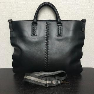 ボッテガヴェネタ(Bottega Veneta)のボッテガヴェネタ ビジネスバッグ 黒 2way イントレチャート(ビジネスバッグ)